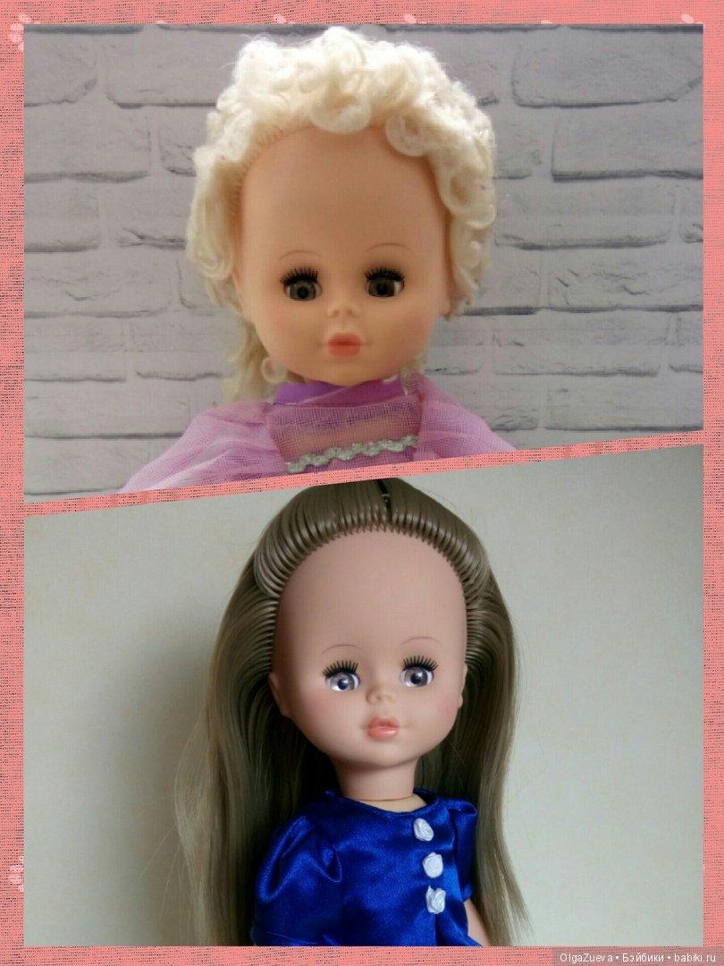 Замена волос кукле Весна