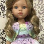 Карла от Паола Рейна в красивом наряде!