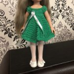 Платья для кукол Паола Рейна, Paola Reina