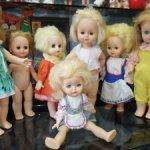 Куколки советские и более современные Российские лотом