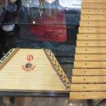 Гусли-цимбалы деревянные детские и деревянный ксилофон СССР лот