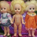Кукла Советского периода цена за лот