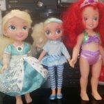 Кукла Дисней Ариэль, Эльза и Снежка Сказочный патруль