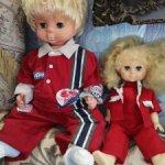 Куклы лотом СССР