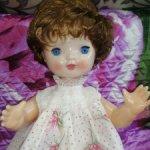 Кукла непослушная Алёнка