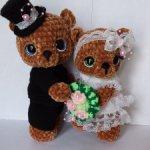 Свадебные мишки