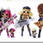 Делю набор Лол куклы Ремикс музык Lol Super Remix,Metal Chick