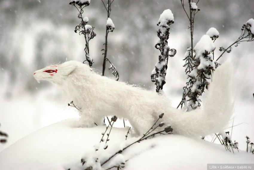 Каркасная игрушка Мадара в волчьем обличии