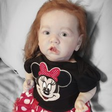 Кукла реборн. Малышка Саския от Bonnie Brown
