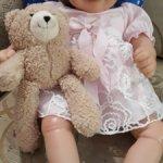 Кукла игровой реборн Мелинда, Китай