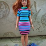 Барби fashionistas пышка