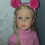 Кукла Готц Анна в Париже 2017