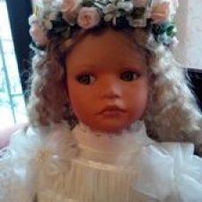 Кукла Северина от Ute Kase- Lep новая, родная коробка документы.  8000 !