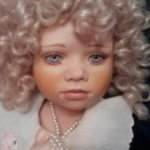 Коллекционная фарфоровая кукла Сюзанна от Christine Orange