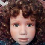 Коллекционная фарфоровая кукла Ирин от Christine Orange