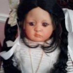 Коллекционная фарфоровая кукла Tinny Blossom от Линды Валентино Мишель