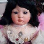 Коллекционная фарфоровая кукла Ангел соединяющий сердца от Линды Валентино Мишель
