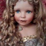 Коллекционная фарфоровая кукла Каролина от Донны Руберт