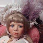 Коллекционная фарфоровая кукла Арабелла от Christine Orange
