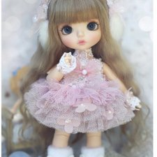 платье lati, pukifee и подобных кукол возможен обмен на наряд от Юли Ребесковой