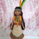 Женский национальный наряд индейцев