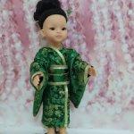 Национальный японский костюм.