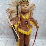 Наряд индейца для Готц