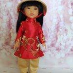 Вьетнамский наряд