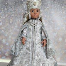 Наряд княжны для куклы готц
