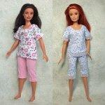 Одежда для Барби и Барби-пышки Пижама
