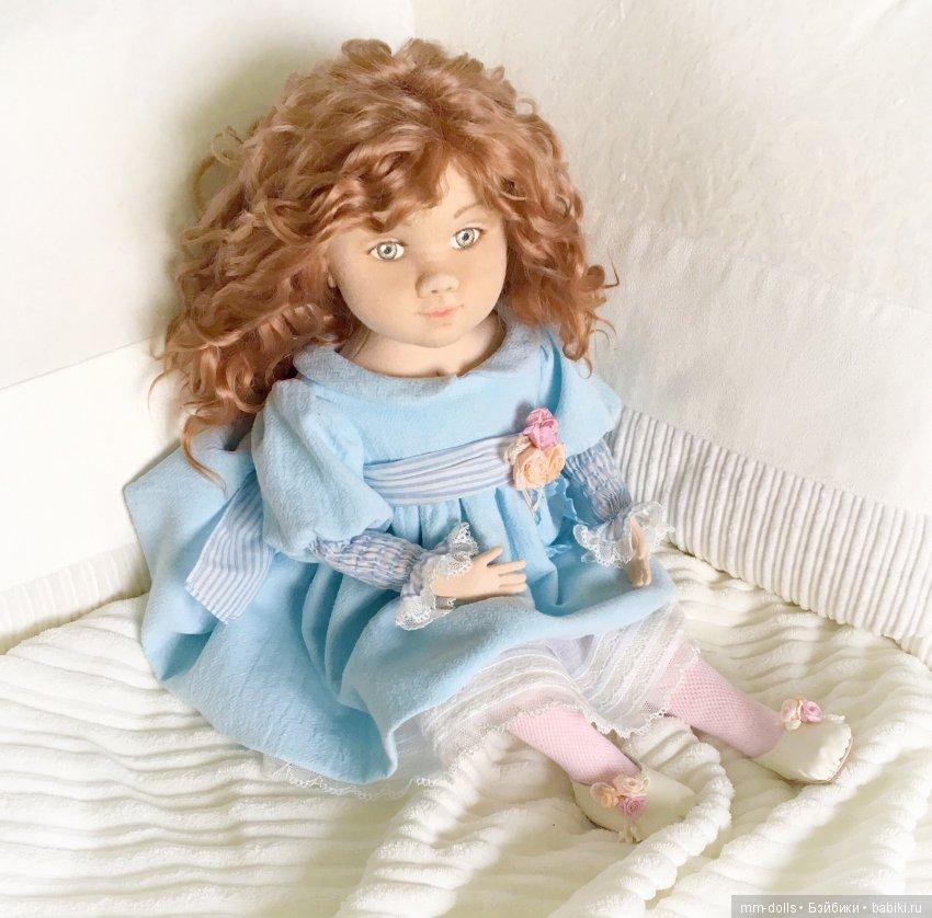 Коллекционная кукла Злата от Марины Мышеловой
