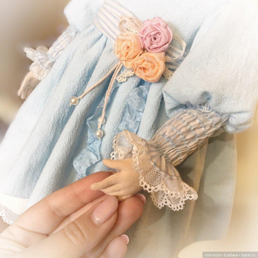Текстильная кукла Злата от Марины Мышеловой