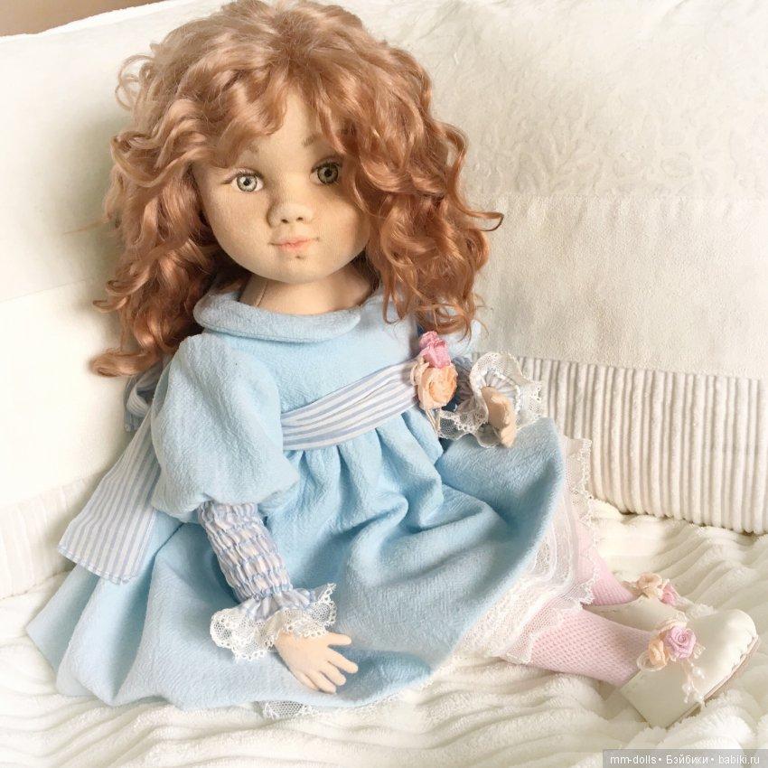 Интерьерная кукла Злата от Марины Мышеловой