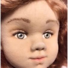 Красивые реснички у кукол из норки, почти как настоящие