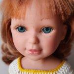 Паулина рыжая с бирюзовыми глазами