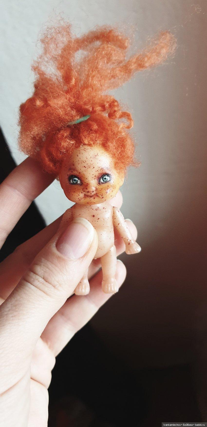 Роспись куколки мини.