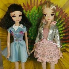 Подружки: Соня и Роза