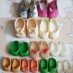 Туфли для кукол СССР