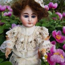 С прекрасным майским днём и замечательной погодой! Антикварная кукла Gebrüder Kühnlenz, 44-26 dep