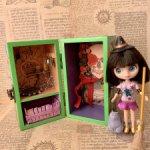 Дом, ящик для хранения и игры куклы Блайз петит и ЛПС