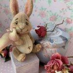Миниатюрный кролик 6,5 см.