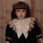 Коллекционная фарфоровая кукла Розмари от Аlberon
