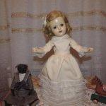 Антикварная кукла 1930 - х годов