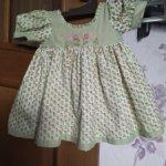 Платье от куклы Моники Левениг