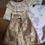 Платье для куклы от Завируешински