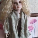 Кукла Людмила фарфоровая