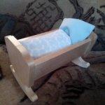 Кроватка для малышей 5-8 см!!!