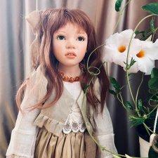 Адочка - девочка с глазами орехового цвета, моя красавица Заверуженски