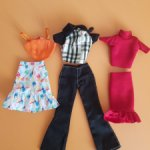 Лот одежды на Барби