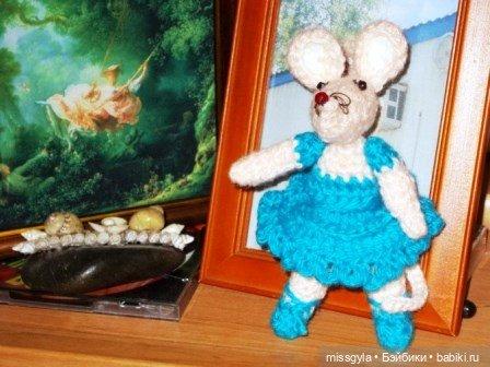 Мышка Альбинка.
